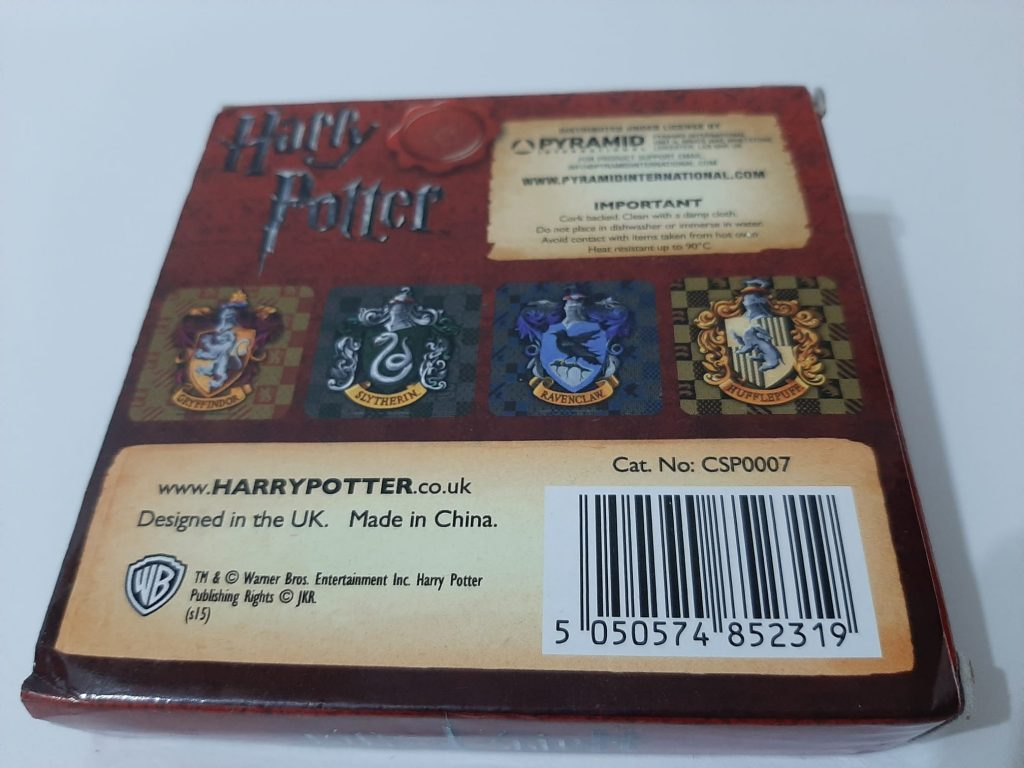 posavasos harry potter casas