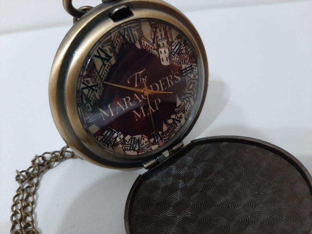 reloj harry potter merodeadores